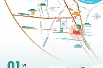 Cơ hội đầu tư đất nền trung tâm TP Quảng Ngãi đầu năm 2020, giá gốc từ chủ đầu tư, hỗ trợ vay 50%