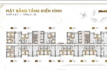 Bán gấp căn hộ 3PN The Place, Quận 2, giá chỉ 4.55 tỷ