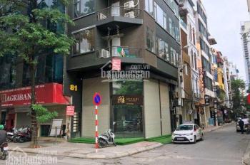 Bán nhà mặt phố Trấn Vũ, Ba Đình, diện tích 168m2, mặt tiền 10m, nở hậu mặt tiền sau. Giá 52 tỷ