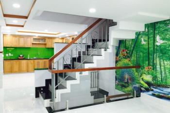 Nhà hẻm 3,5m Nguyễn Văn Luông, P12, 4,1x15m, NH 4,75m, nhà 3L, ST, 4PN, 4WC, hướng Đ, giá 6,6 tỷ