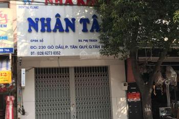 Cho thuê mặt bằng kinh doanh mặt tiền Gò Dầu, Tân Phú (45m2)