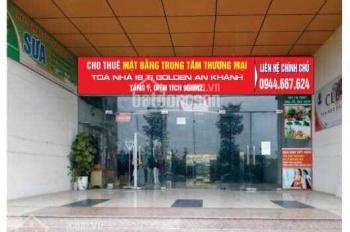 Cho thuê gấp mặt bằng TTTM HH6 KĐT An Khánh 900m2 ngay gần Lê Trọng Tấn LH 0904567123