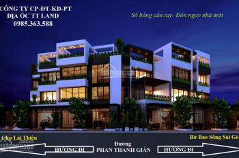 Bán nhà 1 trệt 2 lầu mặt tiền Phan Thanh Giản trung tâm Lái Thiêu, Thuận An