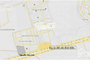 Cần bán lô đất nền tại KDC Bình Điền, ngay chợ đầu mối Bình Điền, Q8, giá TT 1tỷ2/nền, 0707.727.727