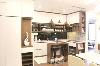 Cho thuê căn hộ chung cư Sunshine Garden, 34 Vĩnh Tuy đồ cơ bản, giá 7tr/th, call: 0987.475.938
