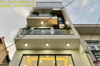 Bán gấp căn nhà phố thiết kế hiện đại full nội thất, một trục ngay đường Phan Huy Ích phường 15 TB