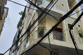Cho thuê nhà ngõ 260 Cầu Giấy DT 60m2, 4 tầng, 2MT, tầng 1 thông, tầng 2 - 3 chia 2P. Giá 28tr/th