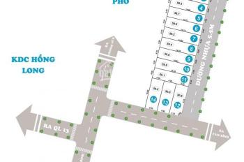Chuyên bán đất KDC Hồng Long, MT Hiệp Bình, Thủ Đức, giá tốt chỉ từ 15tr/m2, TT 30%. LH 0931022221