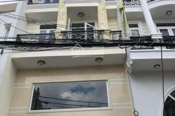 Bán nhà mới hẻm 8m đường Dương Quảng Hàm, P. 5, Gò Vấp, DT 5x10m, trệt + lửng + 2 lầu + ST