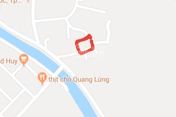 Đất lô góc phường Ái Quốc, TP Hải Dương, 2 mặt tiền, SĐCC