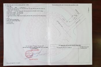 Bán cặp nền góc VIP đường đôi và đường Trần Văn Sắc, KDC Diệu Hiền, diện tích 222m2, ngang hơn 9m