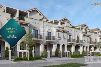 Nhà phố vườn sinh thái Aqua City, 6x20m, giá chỉ từ 5.9 tỷ, 1T 2L, lộc vàng 100 chỉ, 0909885504