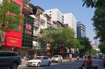 Bán tòa nhà 7 tầng Trần Khát Chân, vỉa hè 8m, 65m2, 3 mặt thoáng, giá 17 tỷ