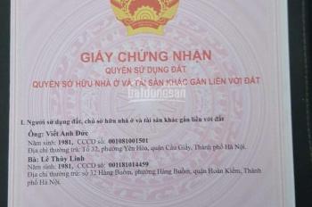 Chính chủ bán đất xã Tam Thuấn, Phúc Thọ, Hà Nội 200m2 lô góc giá 2 tỷ