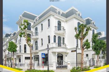 Bán lô góc biệt thự SL 205m2 9,3 tỷ giá gốc CĐT Vinhomes Star City Thanh Hoá