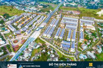Đô thị Điện Thắng: Sở hữu đất mặt tiền QL1A (Tx Điện Bàn) chỉ cần 800tr - Tặng vàng 9999 khai xuân