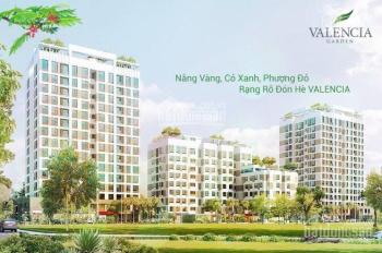 Tôi có 5 căn hộ suất ngoại giao dự án Valencia Garden cần bán, ban công Đông Nam