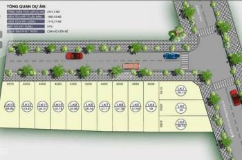 Mở bán 12 lô đất đường Hà Huy Giáp, P Thạnh Xuân, Q12 4.3x13m, 54.5m2. Giá 2.62 tỷ