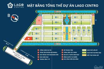 Chính chủ cần bán lô đất nền nhà phố liên kế dự án Lago Centro - 0939116169
