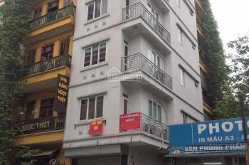 Cho thuê nhà mặt phố Đê La Thành: 36m2 x 6 tầng, mặt tiền 3,5m, nhà mới, riêng biệt. LH: 0974557067