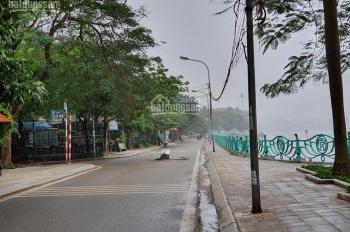 Siêu vip, bán nhà mặt phố Quảng An, Tây Hồ: 300m2, 4 tầng, mặt tiền 15m, view Hồ Tây tuyệt đẹp