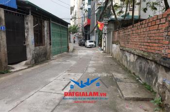 Bán lô đất thổ cư 52m2 ngõ 100, tổ 18, Sài Đồng, Long Biên. Đường ô tô, hướng Tây Bắc