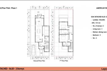 Chính chủ cần nhượng căn biệt thự 8x20m NovaWorld Phan Thiết mã căn: NWP.1.3-04.30 giá đầu tư