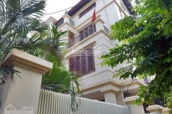 Cho thuê nhà biệt thự phố Linh Lang 130m2x4T, MT 10m ô tô vào nhà, giá 35 triệu/th