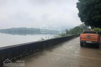 Bán 1600m2 đất mặt hồ Đồng Xương, Lương Sơn, phù hợp làm nghỉ dưỡng