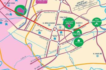 Nền đất xây nhà ở ngay KDC Làng Sen Việt Nam 105 m2 giá 480 triệu. LH 0913.198.089