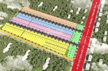Bán đất nền ngay TT Đất Đỏ - Bà Rịa, Vũng Tàu, giá chỉ 770 triệu/108m2 (đã VAT) full thổ cư