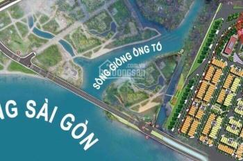 Bán nền biệt thự quận 2, 3 mặt sông Sài Gòn, LH Ms My 0943549499