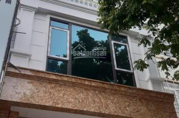Chính chủ cần cho thuê nhà mặt phố Mạc Thái Tông. DT 75m2 x 8 tầng, MT 5,3m