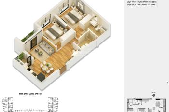 Cần bán gấp căn hộ 66m2 Anland Premium. Tầng trung đẹp, giá cắt lỗ 1.820 tỷ bao phí, 0976974923