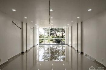 Cho thuê nhà MT Bến Vân Đồn, Q4, 6mx27m, nở hậu 12m 1T, 1L, 5L, ST