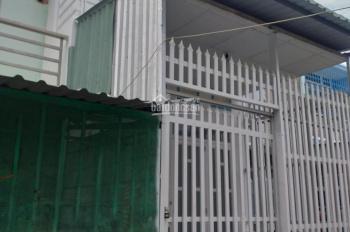 Bán nhà 1 trệt, 1 lửng, 1 lầu, sổ chung, số nhà huyện bộ thuế, đường xe hơi, Ấp 4 xã Đa Phước, BC