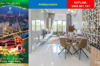 Chính thức chủ đầu tư - Đăng ký tư vấn online, tiết kiệm đến 7% mua căn đẹp dự án Picity High Park
