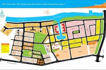 Bán đất dự án khu dân cư Đông Thủ Thiêm, quận 2, p. Bình Trưng Đông
