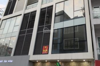 Cho thuê nhà mặt phố Phan Kế Bính, Cống Vị, Ba Đình, 50m2x6T vỉa hè 4m, (kinh doanh, bán cà phê)
