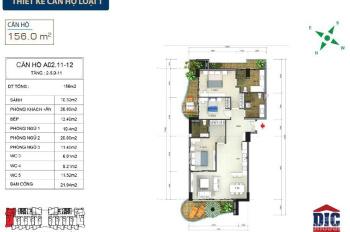 Bán căn hộ Aria tầng 3, diện tích 91m2, giá 3 tỷ 092 triệu
