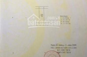 Bán nhà đất tặng nhà cấp 4, địa chỉ: Thôn Yên Viên; xã Yên Viên, huyện Gia Lâm, Tp Hà Nội
