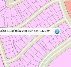 Bán nền đất góc 2 mặt tiền, Thung Lũng Xanh thửa 260 tờ bản đồ 48, giá 8,5tr/m2, 0944 828 969