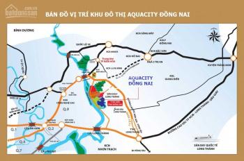 Nhà phố Aqua City khu đô thị ven sông đầy đủ tiện ích theo chuẩn sống 5*, LH: 0901388885