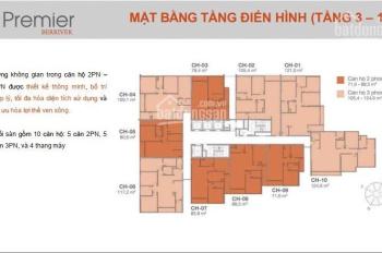 Chính chủ cần bán căn hộ Primer Berriver 83.8m2 tầng trung. 0979921558