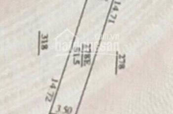 Bán đất 52m2 Quang Lãm - Phú Lãm - Hà Đông ngõ thông. LH: 0985983594