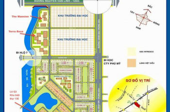 Bán đất nền KDC 13E Intresco Làng Việt Kiều, giá cực rẻ 16tr/m2, DT 5x20m, SHR. LH: 0931022221