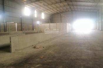 Cho thuê 1400m2 kho xưởng sản xuất mặt tiền đường Thế Lữ, xã Tân Nhựt, huyện Bình Chánh, TP. HCM