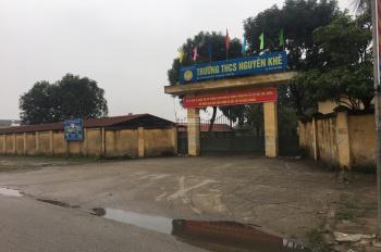 Cần bán 121m2 đất đấu giá đường vào rộng 8m Nguyên Khê - Đông Anh - Hà Nội