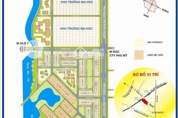 Cần bán đất KDC 13E Phong Phú Intresco, Bình Chánh, MT Nguyễn Văn Linh, giá 18tr/m2, sổ hồng riêng
