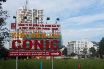 Cần bán gấp lô đất nền KDC Conic, Bình Chánh, MT Nguyễn Văn Linh, giá chỉ 1.5 tỷ, SHR, 0707.727.727